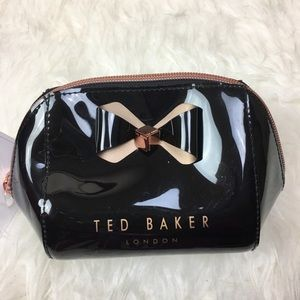 Ted Baker London Trapeze Bow Cosmetic Bag